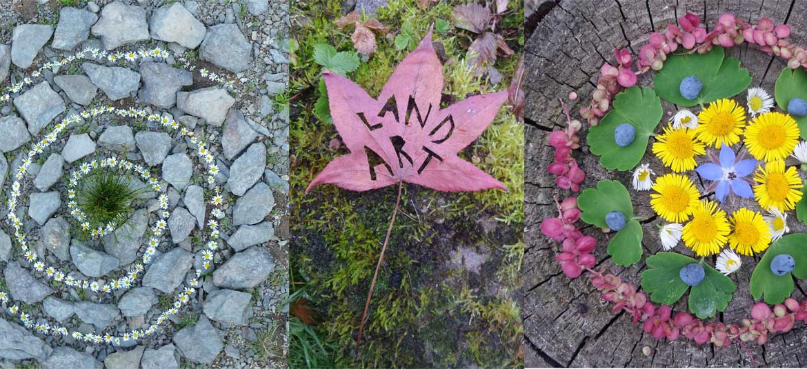 Landart / Naturkunst Workshop
